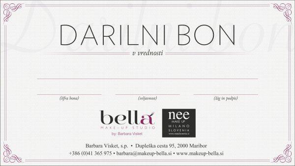 Nee Makeup Milano - Darilni bon